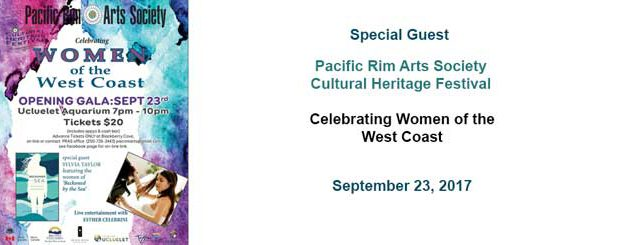Pacific Rim Arts Society Special Guest